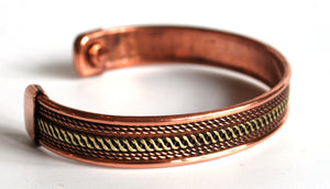 Magnetic Copper Bracelet Style 4