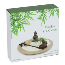 Load image into Gallery viewer, New! Buddha Zen Garden Relaxation Set Including Lepidolite Crystal Chunk