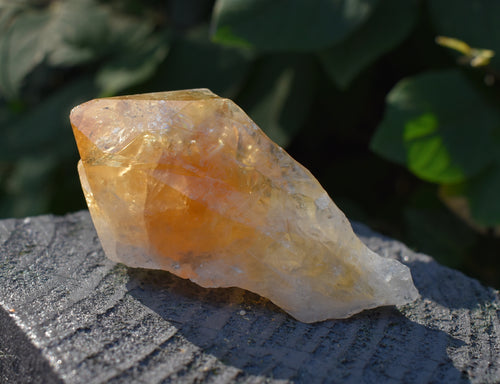 New! Citrine Crystal Stone Polished Point Raw Chunk Piece