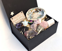 Load image into Gallery viewer, New! Beautiful Inside & Out Natural Crystal 14 Piece Gift Box Set