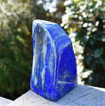 Load image into Gallery viewer, New! Large Solid Lapis Lazuli Crystal Stone Natural & Unique Freeform Piece 338g Inc Luxury Gift Box