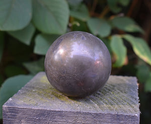 New! Large Natural Pyrite Solid Crystal Stone Polished Sphere Ball (300-400g)