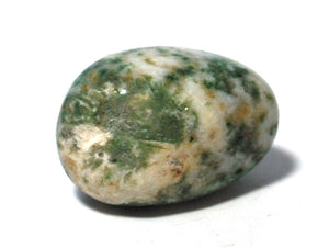 New! Moss Agate Natural Polished Crystal Tumble Stone