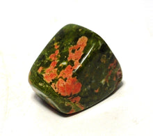 Load image into Gallery viewer, New! Natural Unakite Polished Crystal Tumble Stone