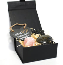 Load image into Gallery viewer, New! 'Spread Love Everywhere You Go' Natural Healing Crystal Gift Boxed Set