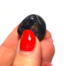 Load image into Gallery viewer, New! Sapphire Natural Unique Blue Crystal Tumble Stone