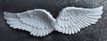 Load image into Gallery viewer, New! Sparkly White Hanging Angel Wings Beautiful Detailed Resin Hanging Decoration Gift