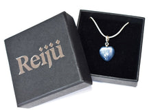 Load image into Gallery viewer, New! Natural Kyanite Crystal 925 Sterling Silver Stone Heart Pendant Inc Chain & Gift Box