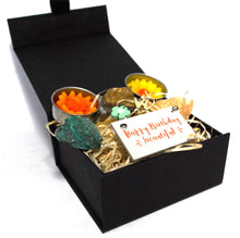Load image into Gallery viewer, New! 'Happy Birthday Beautiful' Natural Healing Crystal Gift Boxed Set