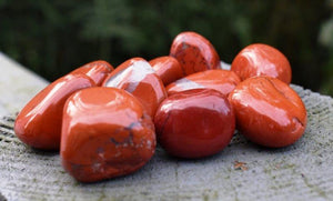 New! Red Jasper Natural Crystal Polished Tumble Stone Gift Wrapped Inc Description Tag