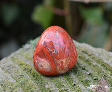 Load image into Gallery viewer, New! Red Jasper Natural Crystal Polished Tumble Stone Gift Wrapped Inc Description Tag