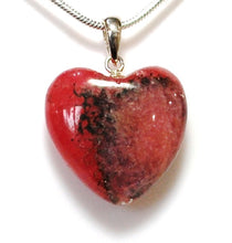 Load image into Gallery viewer, New! Natural Rhodochrosite Crystal Stone 925 Sterling Silver Pendant & Necklace