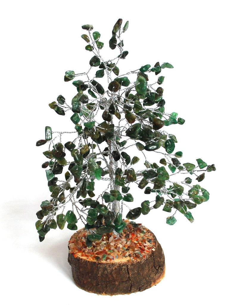 SALE Green Aventurine Crystal Chip Wire Wrapped Gemstone Tree Was £23.99 - Now £19.99!