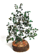 Load image into Gallery viewer, Green Aventurine Crystal Chip Wire Wrapped Gemstone Tree Was £23.99 - Now £19.99!