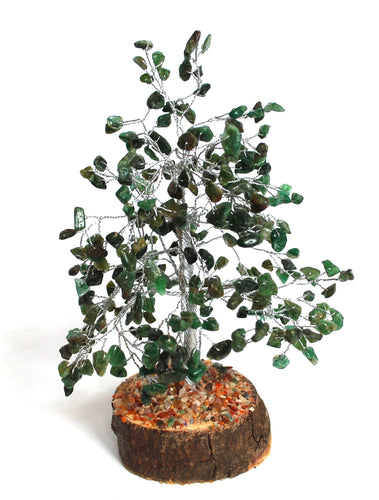 Green Aventurine Crystal Chip Wire Wrapped Gemstone Tree Was £23.99 - Now £19.99!