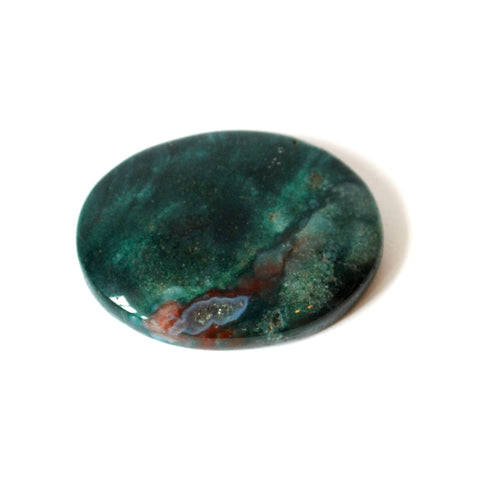 Bloodstone Crystal Cabachone - Krystal Gifts UK