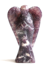Load image into Gallery viewer, Natural Large Lepidolite Crystal Stone Angel Figure