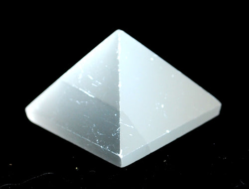 Selenite Crystal Stone Pyramid