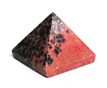 Load image into Gallery viewer, New! Large Natural Rhodonite Crystal Stone Polished Pyramid