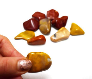 New! Natural Polished Australian Mookite Crystal Tumble Stone Gift Wrapped