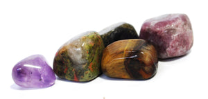"New! Natural ""Crystals of Sleep"" Tumble Stone Set"