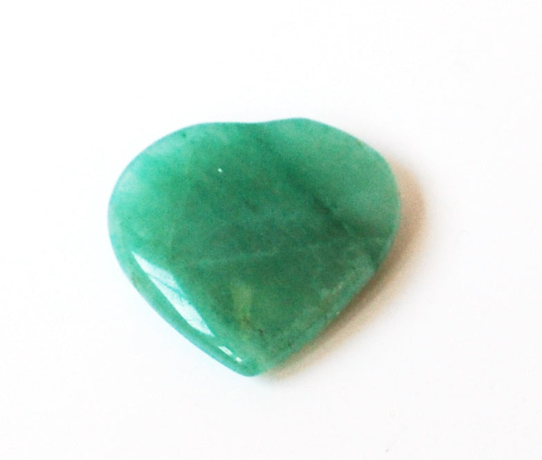 Green Aventurine Crystal Stone Hand Carved Heart