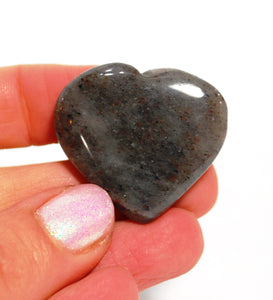 Blue Aventurine Crystal Stone Hand Carved Heart