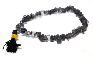 Iolite Crystal Stone Chips Power Bracelet