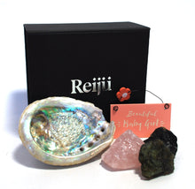 Load image into Gallery viewer, New! 'Beautiful Baby Girl' Natural Crystals Boxed Gift Set