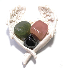 Load image into Gallery viewer, Natural Anxiety Relief Crystal Tumble Stone Healing Gift Set Beautifully Wrapped