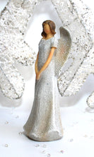 Load image into Gallery viewer, Glitter Guardian Angel Ornament Statue (Figure 1) 15cm