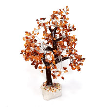 Load image into Gallery viewer, New Large Carnelian Crystal Stone Wire Wrapped Gemstone Tree With Crystal Base
