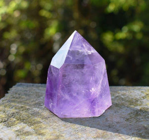 New! Large Natural & Unique Amethyst Cluster Points Base Piece From Brazil 1190g Gift Boxed