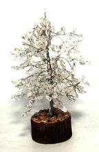 Load image into Gallery viewer, Clear Quartz Crystal Chip Wire Wrapped Gemstone Tree