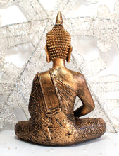 Load image into Gallery viewer, Large Gold Thai Buddha With Candle Holder Colour Gift Present 27cm 100939 - Krystal Gifts UK