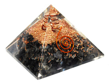 Load image into Gallery viewer, Large Hematite Crystal Stones Orgone Orgonite Pyramid
