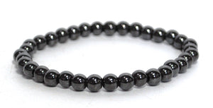 New! Hematite Natural Crystal Stone Small Beads Bracelet Jewellery