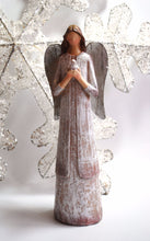 Load image into Gallery viewer, Large 29cm Angel Of Peace Statue Ornament Decorative Hand Carved Christmas Gift - Krystal Gifts UK