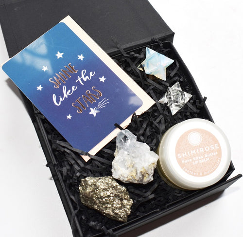New! Luxury 'Shine Like The Stars' Christmas Gift Box Set Gift Wrapped