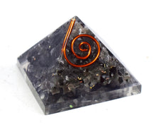 Load image into Gallery viewer, New! Small Natural Larvikite Crystal Stones Orgone Orgonite Pyramid