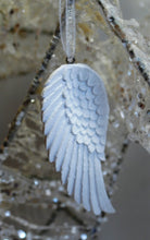 Load image into Gallery viewer, Beautiful White Angel Single Wing Hanging Decoration - Krystal Gifts UK