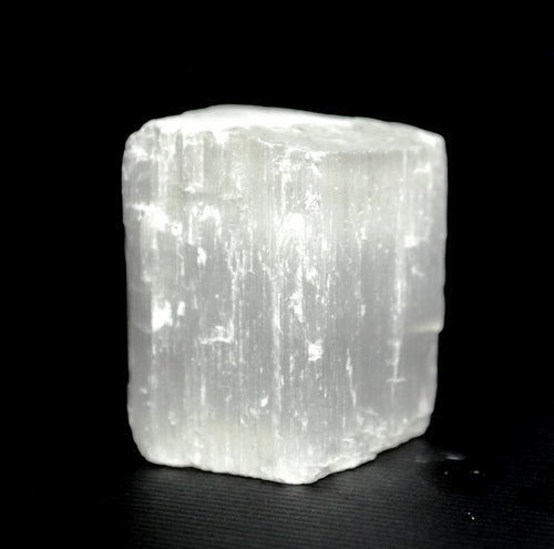 New! Selenite Natural Unique Crystal Raw Piece