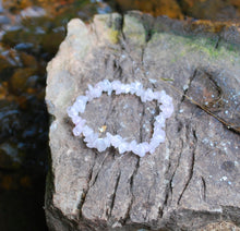 Load image into Gallery viewer, Rose Quartz Crystal Stone Chips Bracelet Gift of Love