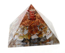 Load image into Gallery viewer, New! Large Blue Lace Agate Natural Crystal Stone Orgone Pyramid