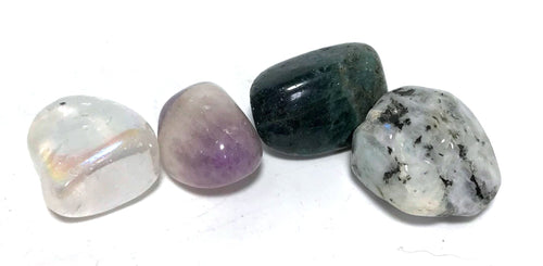 New! Natural Crystals For Dreams Dreaming Polished Tumble Stones Set
