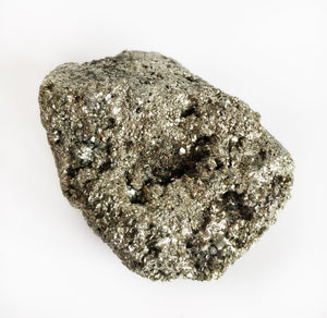 "Pyrite Crystal Stone ""Fools Gold"" Genuine Natural Raw Heavy Solid & Impressive Piece - Krystal Gifts UK"