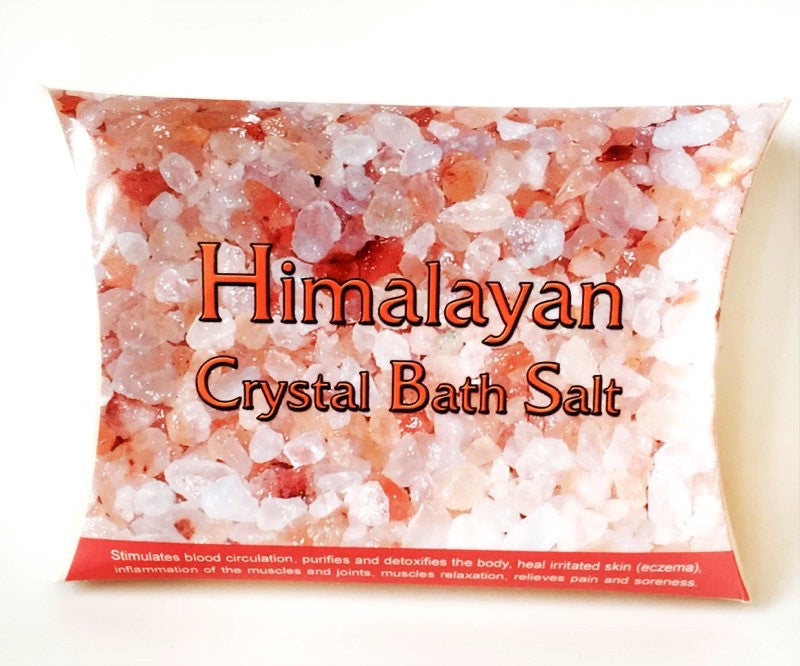 Himalayan Crystal Crystal Relaxing Bath Salt 100% Natural - Krystal Gifts UK