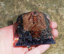 Load image into Gallery viewer, New Large Natural Larvikite Crystal Stones Orgone Orgonite Pyramid
