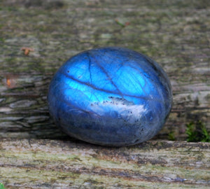 New! Polished Large Labradorite Pebble Crystal Stone