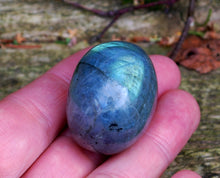 Load image into Gallery viewer, New! Polished Large Labradorite Pebble Crystal Stone